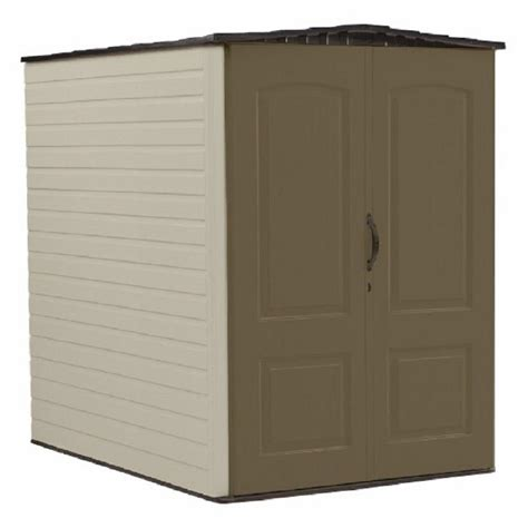 rubbermaid big max storage shed shelves rubbermaid big max 5 ft x 6 ft plastic shed 1967672