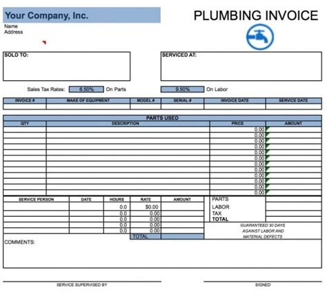 invoice template excel easy  edit  customize