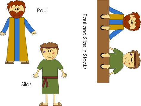 Paul And Silas Clipart