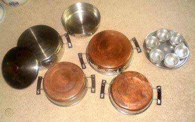 vintage presto pride copper bottom cookware stainless