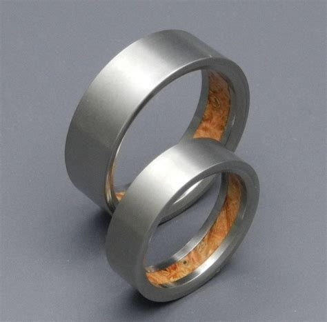 collection of wedding bands for electrician
