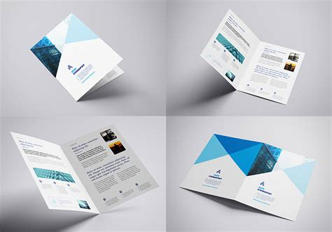 A4 Bifold Brochure Mockup 85 Free Brochure Mockup Templates For Your Designs