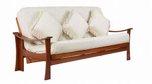 Lifestyle solutions zen sofa bed convertible for Zen sofa bed