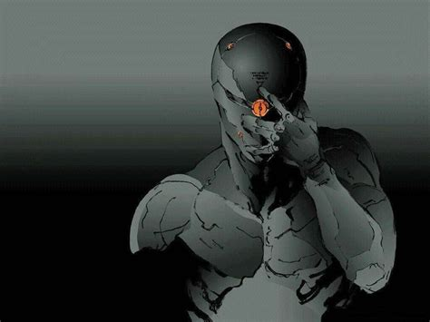 Gray Fox From Metal Gear Solid Game Art