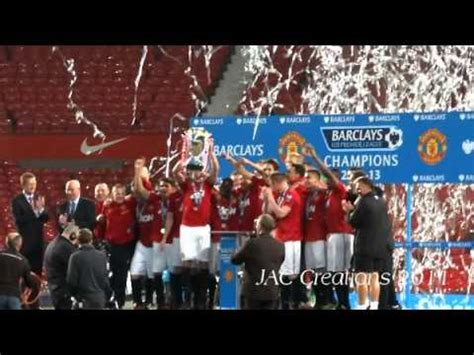 Manchester United U21 CHAMPIONS 2013 Live From old ...