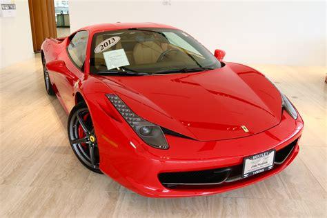 Used 458 Italia by 2013 458 Italia Stock 7nc015534a For Sale Near