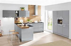 Kche nolte lux in grau dekor von nolte kchen und kche g for Nolte kuchen