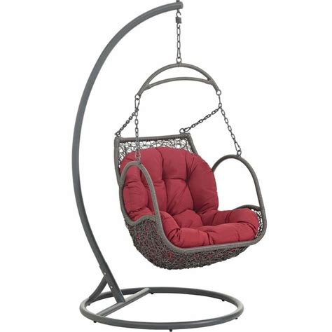 arbor outdoor patio wood swing chair modern in designs