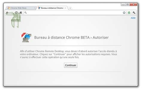 bureau distance chrome bureau à distance chrome beta ginjfo