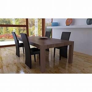 Stühle Esszimmer Günstig : esszimmer 4 st hle set lange lehne braun g nstig kaufen ~ Markanthonyermac.com Haus und Dekorationen