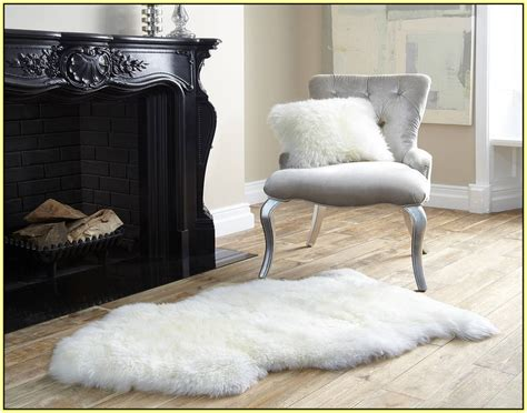 Sheepskin Rug Ikea by Ikea Faux Fur Rug Home Decor