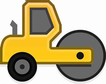 Construction Clipart Bulldozer Truck Road Caterpillar Maquinaria