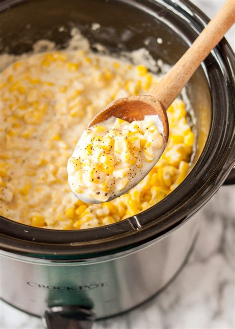 how to make creamed corn how to make slow cooker creamed corn recipe the kitchn