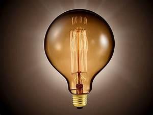 Vintage Fassung E27 : luminea vintage globe schmucklampe mit gitterf rmigem gl hdraht e27 fassung ~ Markanthonyermac.com Haus und Dekorationen
