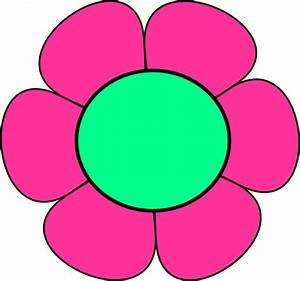 Pink And Green Flower Clip Art at Clker.com - vector clip ...