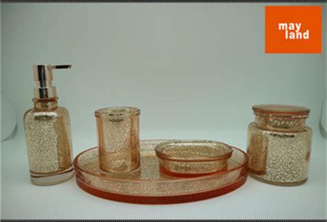 Gold Mercury Glass Bath Accessories by Mercury Glass Bathroom Accessory Set Glass Bath Lotion