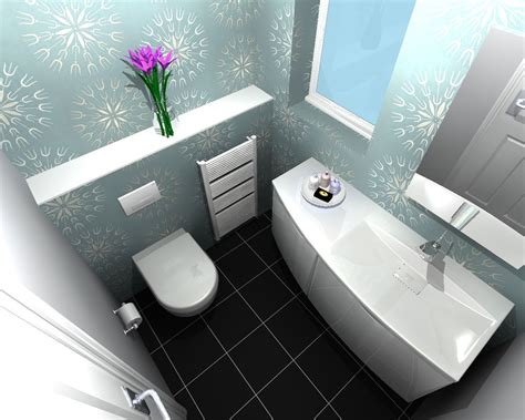 This Compact Installation Included A Toilet And Wash-basin. The Client