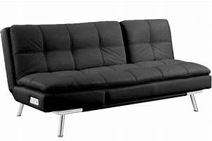 black leather futon sleeper palermo serta modern lounger With serta sleeper sofa bed