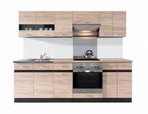 Komplett Küchen Küchenzeile : einbauk che mit elektroger ten herd sp lbecken k chenzeile komplett k che eiche ebay ~ Sanjose-hotels-ca.com Haus und Dekorationen