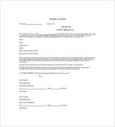 Printable Gun Bill of Sale Template