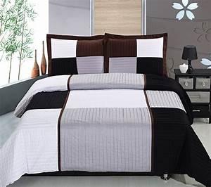 Les 25 meilleures idees de la categorie couvre lit moderne for Chambre à coucher adulte moderne avec housse couette city