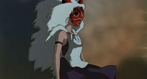 12 Funny, Beautiful and Badass GIFs from Princess Mononoke ...
