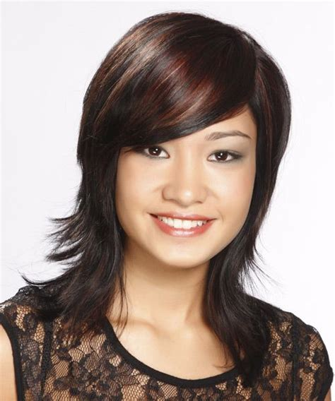 medium straight casual hairstyle 2014 new hairstyles in