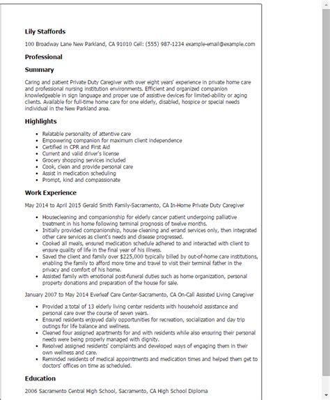 #1 Private Duty Caregiver Resume Templates Try Them Now. How To Write A Perfect Resume. Resume Templates Word Free. Resume For Pharmacy Technician. Leadership Skills Resume. Additional Skills To Add To Resume. Easy Simple Resume Template. How Should My Resume Look. Objective About Resume