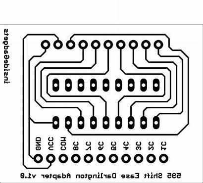 Shift Ease Pcb Register Darlington Adapter Insidegadgets