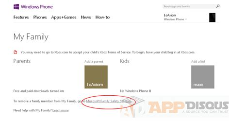 windows phone family new my family settings windows phone homekeep xyz