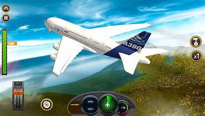 Simulator Flight Airplane Plane Games Apps Android