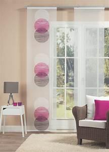 Schiebevorhang Schwarz Weiß : fl chenvorhang pink halbtransparenter schiebevorhang super ~ A.2002-acura-tl-radio.info Haus und Dekorationen