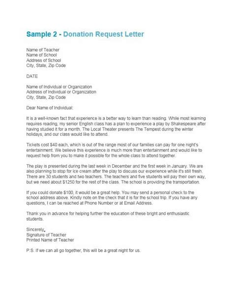 write  request letter  english