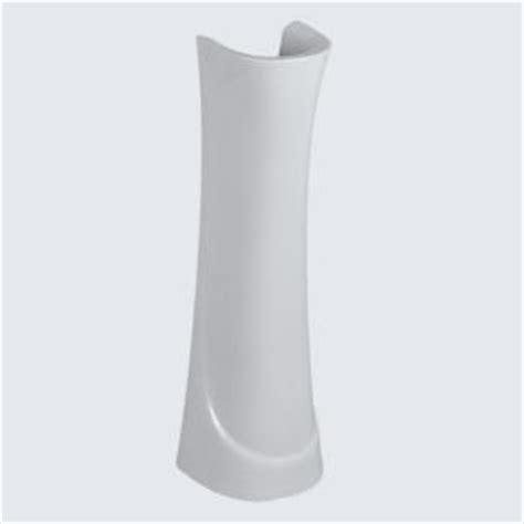 glacier bay shelburne pedestal sink glacier bay aragon oval drop in bowl china pedestal sink