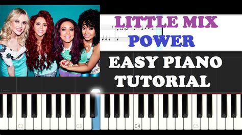 Power (easy Piano Tutorial) Chords