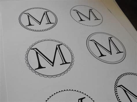 free monogram template susie harris free template labels