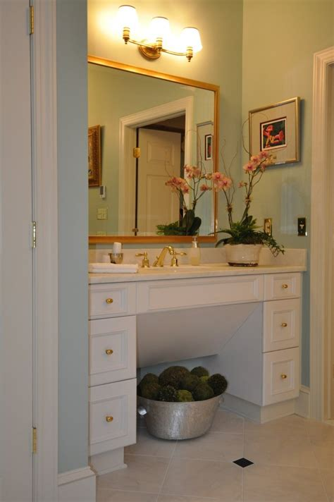 wheelchair accessible vanity aging in place remodels