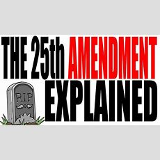 The 25th Amendment Explained American Government Review Youtube