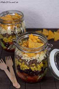 Grünkohl Zubereiten Glas : taco salat im glas rezept blogger rezepte salat im glas salat und taco salat ~ Yasmunasinghe.com Haus und Dekorationen