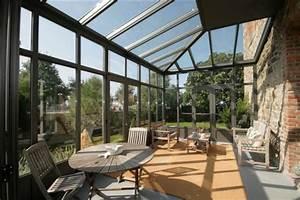 Serre Acier Verre : verandas tous les fournisseurs verandas veranda ~ Premium-room.com Idées de Décoration