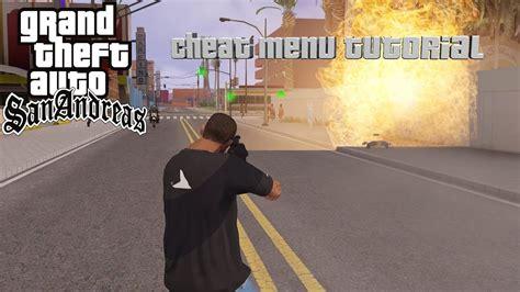 Gta San Andreas Best Cleo Cheat Menu Tutorial Youtube