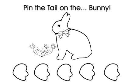 Pin The Tail On The Easter Bunny Kidspot