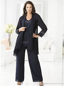 ming blue mother of the bride pants suits for weddings With dress pants for wedding guest
