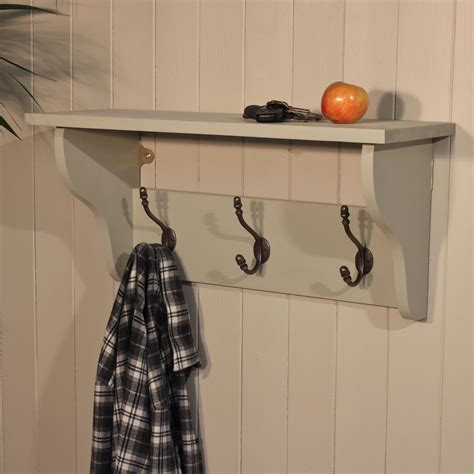 coat hooks with shelf furniture white wooden coat racks with shelf and four