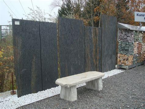 Sichtschutz Garten Schiefer bauzentrum beckmann schiefer sandstein sichtschutz platten
