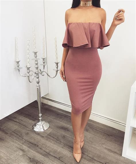 Obsessed with today's arrivals! NEW Mauve Off Shoulder