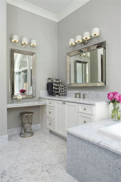 Bathroom Makeup Vanity Ideas by Floating Make Up Vanity Transitional Bathroom Fautt
