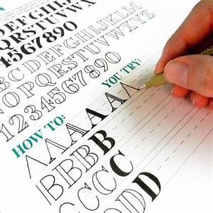25 best ideas about lettering guide on pinterest With learn creative lettering
