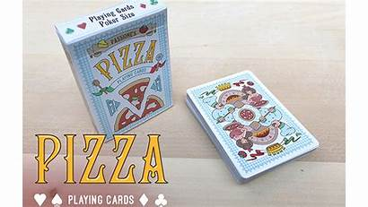 Cards Pizza Playing Passione Lpcc Deck Brand