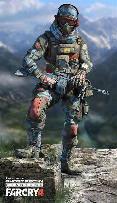 Character Artstation Ghost Recon Soldier Concept Future